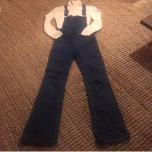 Super fitted bell bottom overalls